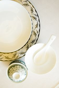 Free The Tableware  In China Royalty Free Stock Images - 14048649