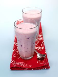 Berri Smoothie Royalty Free Stock Photography