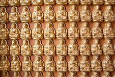 Free The Hundred Buddha Wall Stock Photos - 14048873