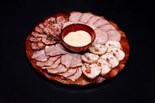 Free Meat Plate Royalty Free Stock Photos - 14049058