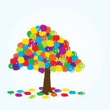 Free Abstract Tree Royalty Free Stock Photo - 14049735