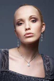 Free Vintage Beauty. Stock Photos - 14049793