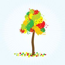 Free Abstract Tree Royalty Free Stock Photos - 14049908