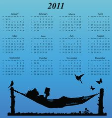Free 2011 Calendar Stock Images - 14050744