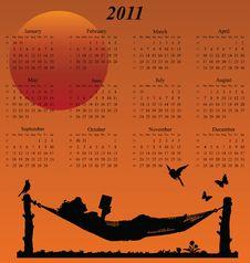 Free 2011 Calendar Stock Photo - 14050770