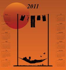 Free 2011 Calendar Stock Image - 14050791