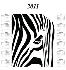 Free 2011 Calendar Royalty Free Stock Image - 14050906