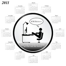 Free 2011 Calendar Stock Photo - 14050940