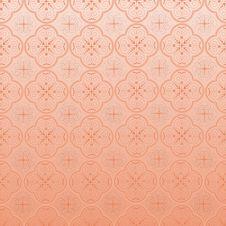 Seamless Ornamental Wallpaper Stock Photos