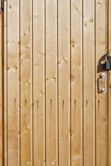 Free Old Wooden Door Royalty Free Stock Photo - 14051415