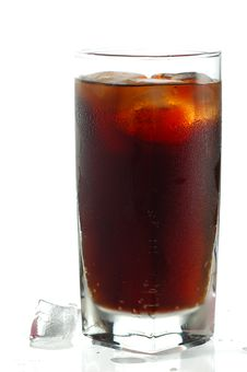 Free Glass Of Cola Royalty Free Stock Images - 14051489