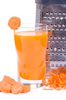 Free Carrot Juice Stock Photos - 14051873