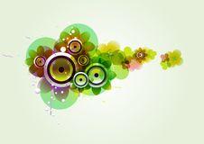 Free Summer Flower  With Loudspeaker Stock Image - 14051941