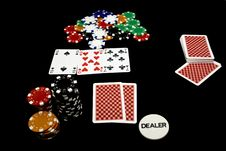 Free In Game Poker Holdem Royalty Free Stock Images - 14053199