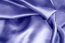 Free Blue Silk. Royalty Free Stock Photography - 14053637