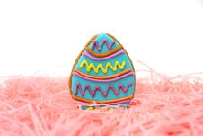 Easter Egg Cookie Royalty Free Stock Photo