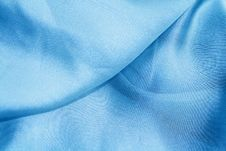 Free Blue Silk. Stock Image - 14053991