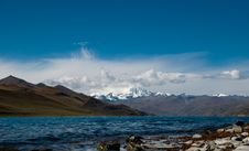 Scenery In Tibet Royalty Free Stock Photos