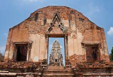 Wat Ratburana Royalty Free Stock Photos