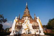 Free Wat Yai Chai Mongkol Royalty Free Stock Photography - 14054727