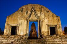 Wat Ratburana Stock Images