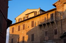 Free Sunset In Siena Royalty Free Stock Photography - 14054897