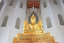 Free Thai Style Buddha Stock Photography - 14055772