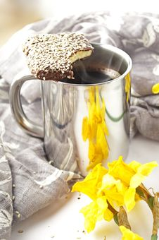 Free Cup Of Coffee Stock Images - 14057774