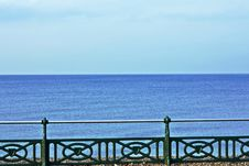 Free Sea And Railings Stock Photography - 14057882