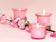 Free Candles Royalty Free Stock Image - 14057896