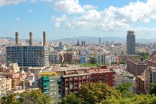 Free Barcelona View Stock Photo - 14057960