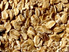 Free Oat Flakes Texture Background Stock Photos - 14058013