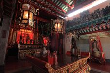 Classic Chinese Temple Royalty Free Stock Images