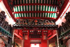 Free The Roof Of Chinese Temple Royalty Free Stock Photos - 14058358