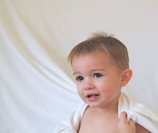 Free Peep A Boo Baby Royalty Free Stock Photography - 14058557