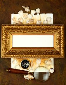 Free Antique Frame Royalty Free Stock Photos - 14058558