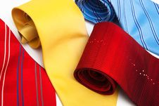 Free Beautiful Necktie Royalty Free Stock Photo - 14059005