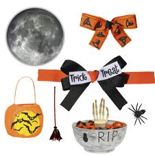 Free Halloween Vector Elements Royalty Free Stock Photos - 14059418