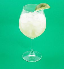 Free Margarita On The Rocks Royalty Free Stock Photography - 14059537