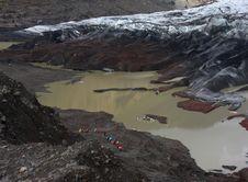 Free Glacier Tour Stock Photos - 14060013