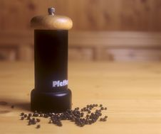 Free Pepper Mill Stock Image - 14060201
