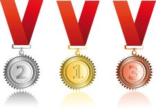Free Set  Award Ribbons Stock Photography - 14060322