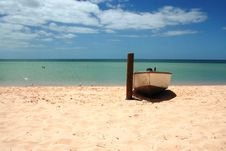 Free Boat On The Beach - Landscape Royalty Free Stock Photos - 14060968