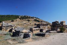 Free View Of Ruins Of Ancient Hierapolis Royalty Free Stock Photo - 14061345