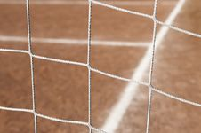 Free Soccer Field Goal Net Royalty Free Stock Photo - 14061495