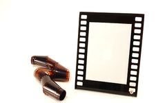 Free Glass Photo Frames With The Film Royalty Free Stock Images - 14061649