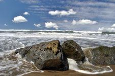 Free Ocean Beach Royalty Free Stock Photo - 14061705
