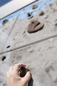 Free Hand Holding Climbing Grip Royalty Free Stock Photo - 14061715