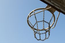 Free Outdoor Basketball Hoop Royalty Free Stock Image - 14061756