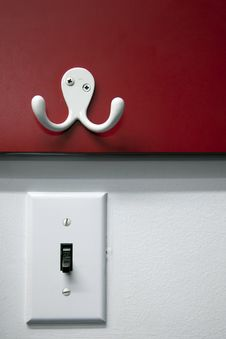 Free Hanger And Light Switch Stock Photos - 14063183